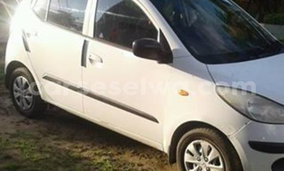 Buy Used Hyundai i20 White Car in Anse Aux Pins in East Mahé