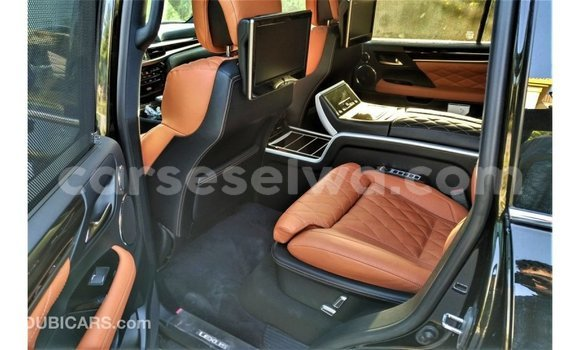 Buy Import Lexus LX Black Car in Import - Dubai in East Mahé