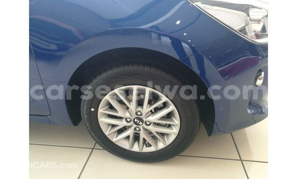 Buy Import Kia Rio Blue Car in Import - Dubai in East Mahé