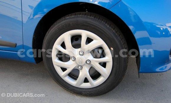 Buy Import Hyundai i10 Blue Car in Import - Dubai in East Mahé
