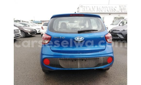 Buy Import Hyundai i10 Blue Car in Import - Dubai in East Mahé