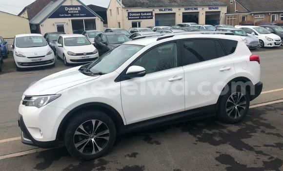 Buy Used Toyota RAV4 Red Car in Beau Vallon in North Mahé