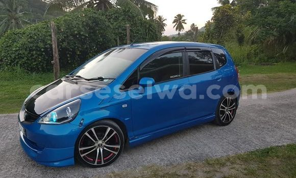 Buy Used Honda Jazz Blue Car in Beau Vallon in North Mahé