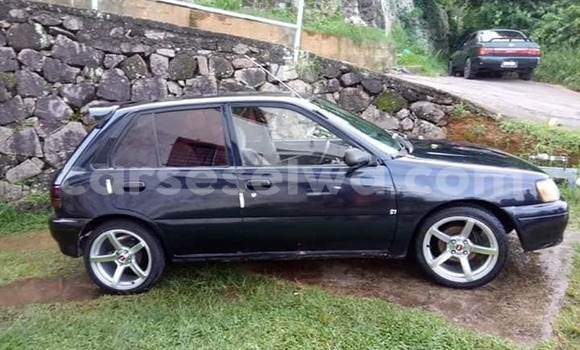 Buy Used Toyota Starlet Blue Car in Beau Vallon in North Mahé
