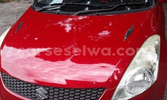 Buy Used Suzuki Swift Red Car in Bel Air in Greater Victoria