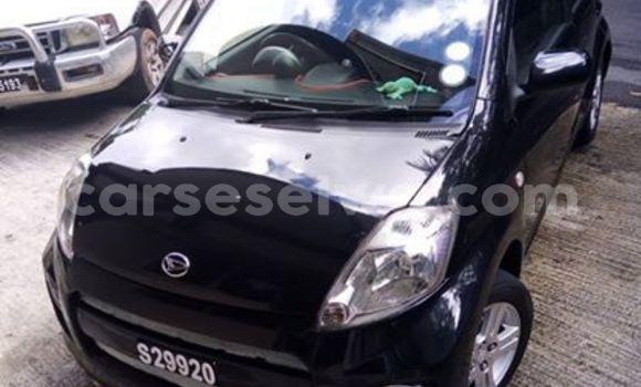 Buy Used Daihatsu Sirion Black Car in Beau Vallon in North Mahé