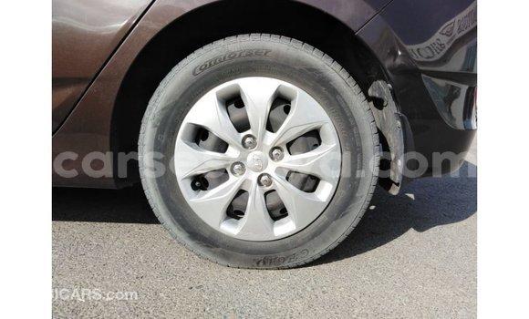 Buy Import Hyundai Accent Brown Car in Import - Dubai in East Mahé