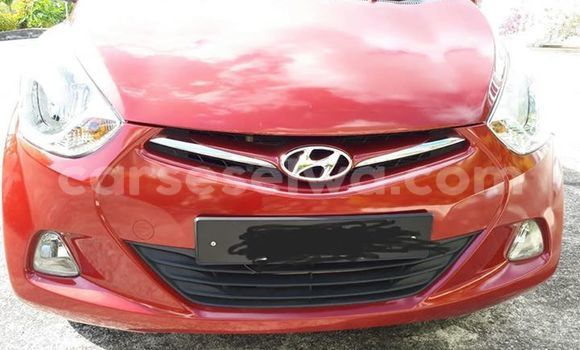 Buy Used Hyundai Eon Red Car in Beau Vallon in North Mahé