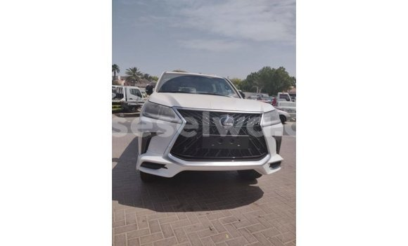 Buy Import Lexus LX White Car in Import - Dubai in East Mahé