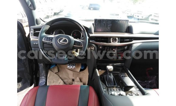 Buy Import Lexus LX Black Car in Import - Dubai in East Mahé