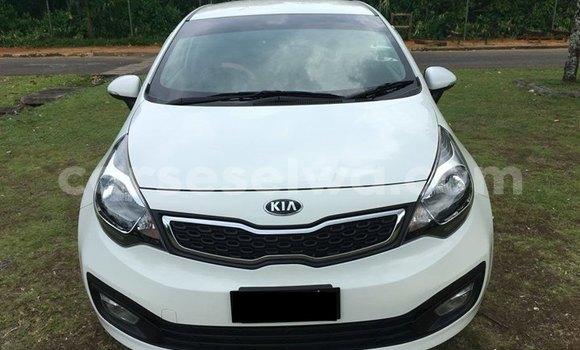 Buy New Kia Rio Sedan White Car in Beau Vallon in North Mahé