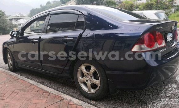 Buy Used Honda Civic Black Car in Anse Aux Pins in East Mahé