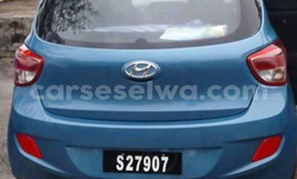 Buy New Hyundai Grand i10 Black Car in Anse Aux Pins in East Mahé