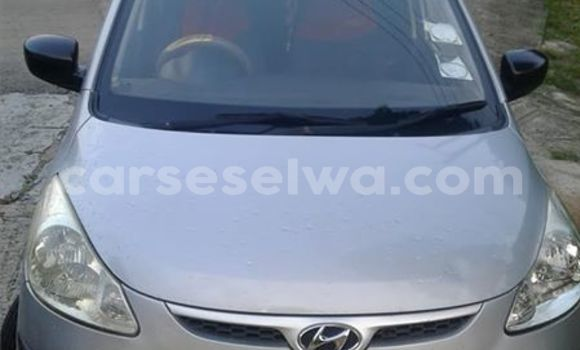 Buy Used Hyundai Grand i10 Silver Car in Anse Aux Pins in East Mahé