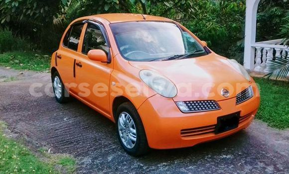 Buy Used Nissan March Other Car in Beau Vallon in North Mahé