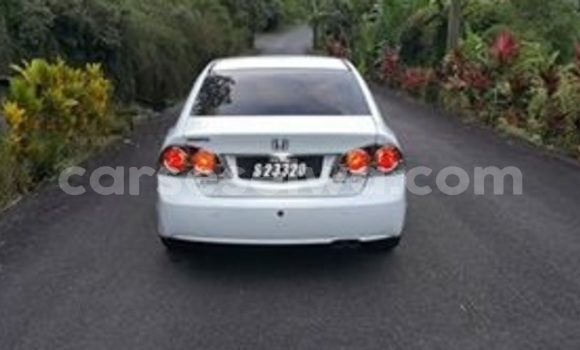 Buy Used Honda Civic White Car in Beau Vallon in North Mahé