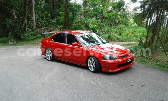 Buy Used Honda Civic Red Car in Beau Vallon in North Mahé