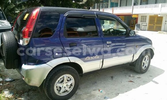 Buy Used Daihatsu Terios Blue Car in Beau Vallon in North Mahé