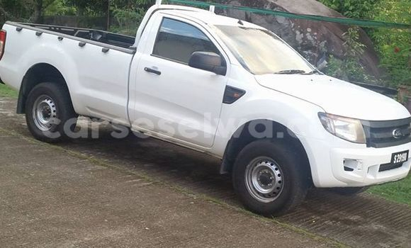 Buy Used Ford Ranger White Car in Beau Vallon in North Mahé