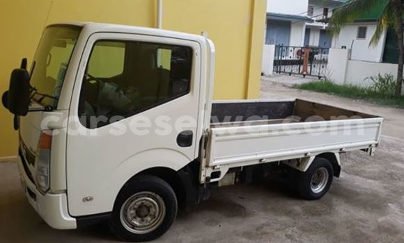 Buy Used Nissan Cabstar White Truck in Bel Air in GreaterVictoria
