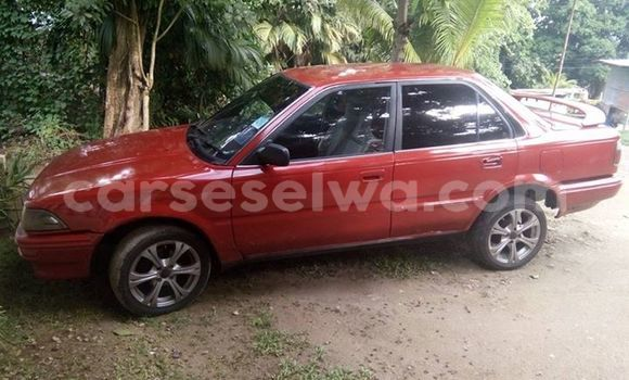 Buy Used Toyota Corolla Red Car in Beau Vallon in North Mahé