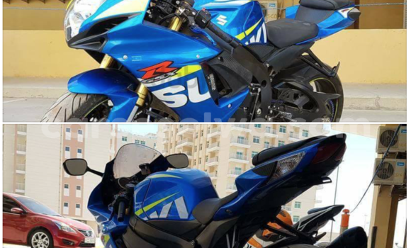 Buy Used Suzuki GSX–R Blue Bike in Bel Air in Greater Victoria