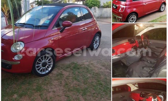Buy Used Fiat Punto Red Car in Mont Buxton in Greater Victoria