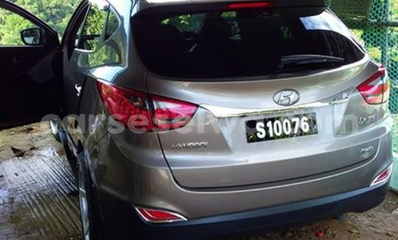 Buy Used Hyundai ix35 Silver Car in Mahe in Victoria