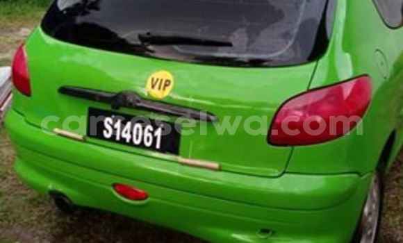 Buy Used Peugeot 206 Green Car in Beau Vallon in North Mahé