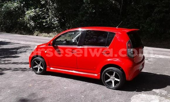 Buy Used Daihatsu Sirion Red Car in Beau Vallon in North Mahé