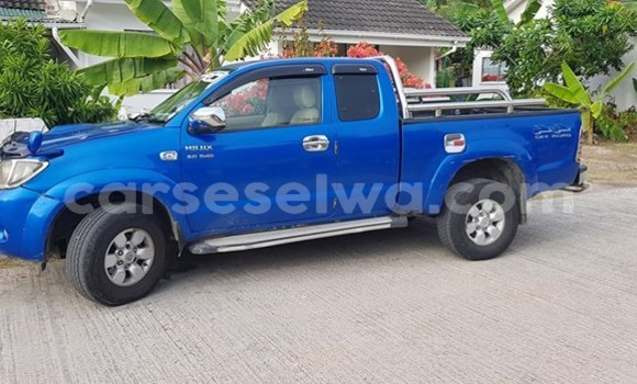 Buy Used Toyota Hilux Blue Car in Beau Vallon in North Mahé