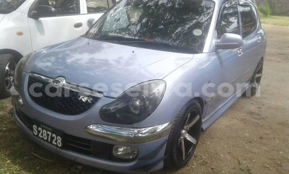 Buy Used Daihatsu Sirion Silver Car in Beau Vallon in North Mahé