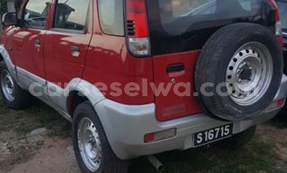 Buy Used Daihatsu Terios Red Car in Beau Vallon in North Mahé