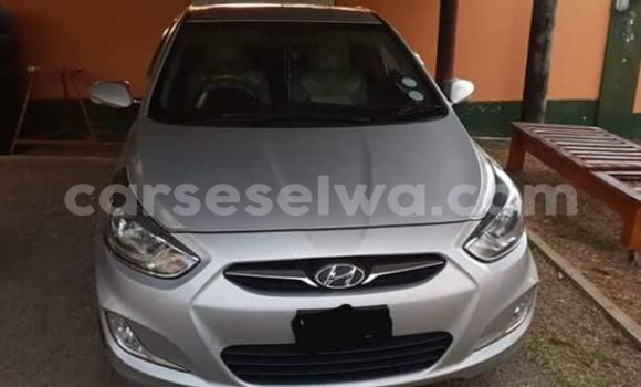 Buy Used Hyundai Accent Silver Car in Beau Vallon in North Mahé