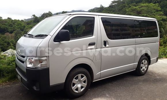 Buy Used Toyota Hiace Silver Car in Beau Vallon in North Mahé
