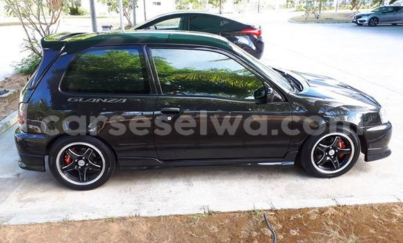 Buy Used Toyota Starlet Black Car in Beau Vallon in North Mahé