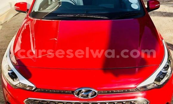 Buy Used Hyundai i20 Red Car in Beau Vallon in North Mahé