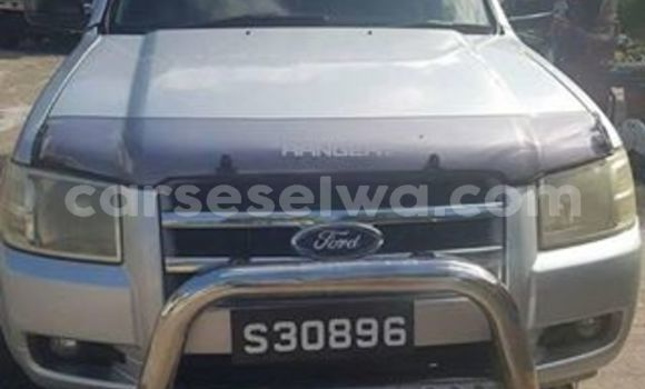 Buy Used Ford Ranger Silver Car in Beau Vallon in North Mahé