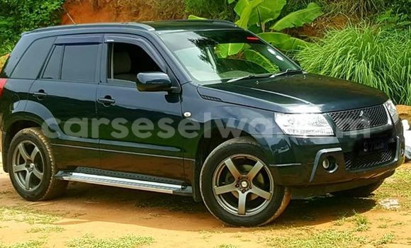 Buy Used Suzuki Grand Vitara Black Car in Beau Vallon in North Mahé