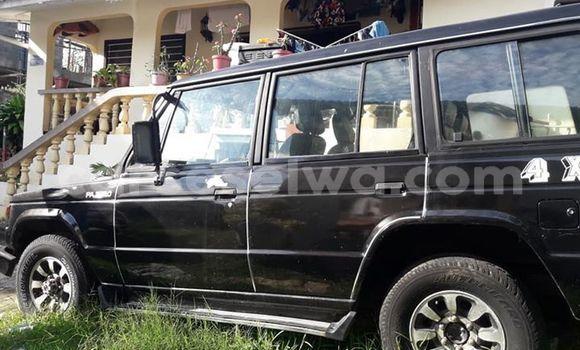 Buy Used Mitsubishi Pajero Black Car in Beau Vallon in North Mahé