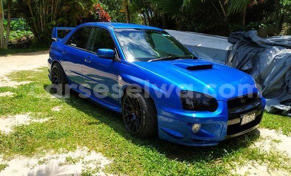 Buy Used Subaru Impreza Blue Car in Anse Boileau in West Mahé