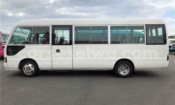 Buy Used Toyota Coaster White Car in Grand'Anse in West Mahé
