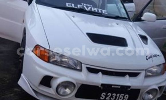 Buy Imported Mitsubishi Lancer White Car in Beau Vallon in North Mahé