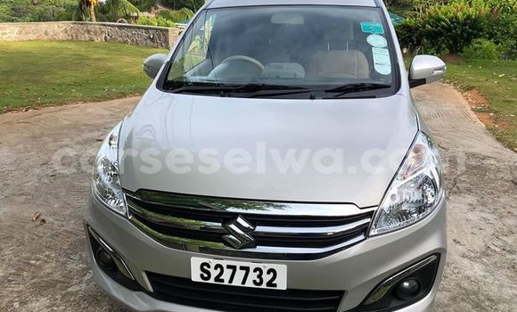 Buy Used Suzuki Ertiga Silver Car in Beau Vallon in North Mahé