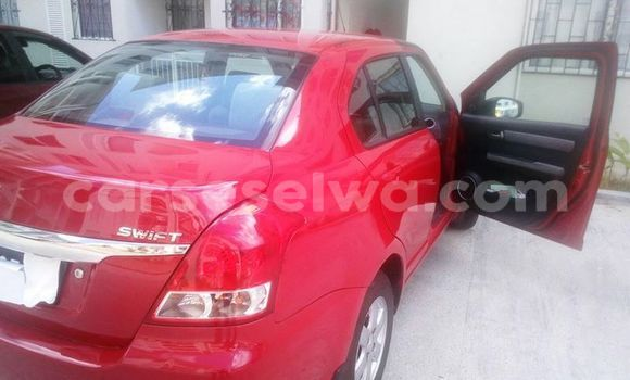 Buy Used Suzuki Swift Red Car in Beau Vallon in North Mahé