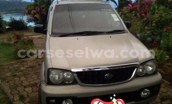 Buy Used Daihatsu Terios Silver Car in Beau Vallon in North Mahé