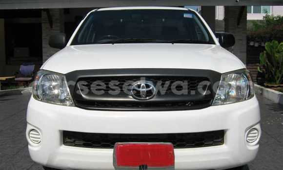Buy Used Toyota Hilux White Car in Beau Vallon in North Mahé