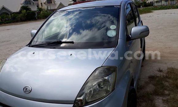 Buy Used Daihatsu Sirion Silver Car in Beau Vallon in North Mahé