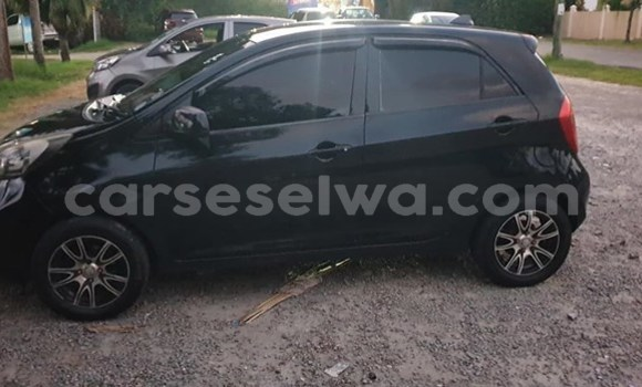 Buy Used Kia Picanto Black Car in Mahe in Victoria