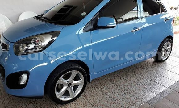 Buy Used Kia Picanto Blue Car in Mahe in Victoria